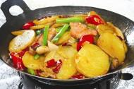 美味的家常干锅土豆片图片(9张)