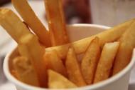 金黄色的薯条图片(7张)