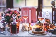 浪漫的烛光晚餐图片(15张)