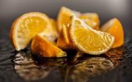 被切开的可口橙子图片(27张)