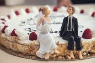裱花精美的婚礼蛋糕图片(10张)