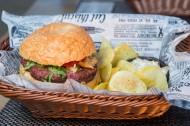 圆圆的汉堡包图片(9张)