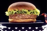 美味好吃的火腿汉堡图片(11张)