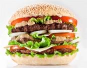 美味可口的汉堡包图片(22张)