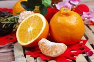 酸甜可口的切开的橙子图片(10张)