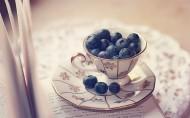 新鲜欲滴的蓝莓图片(14张)