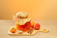 黄桃与黄桃酱图片(9张)