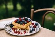 花园里的健康早餐图片(12张)