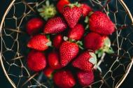 美味的草莓图片(9张)