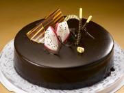 巧克力奶油蛋糕图片(20张)