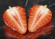切开的草莓图片(11张)