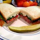 美味三明治图片(9张)