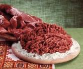 新鲜的肉丝肉块图片(15张)