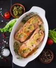 三文鱼美食图片(9张)