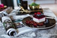 美味的蓝莓覆盆子蛋糕图片(14张)