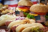 美味的汉堡包啤酒食物图片(20张)