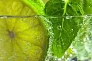 水果柠檬片浸泡在水中的图片(15张)