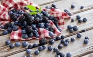 蓝莓和其他水果图片(11张)