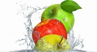 水果掉进水里溅起的水花图片(15张)