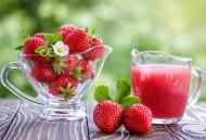 酸甜可口的草莓饮料图片(15张)