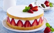 美味的草莓蛋糕图片(9张)