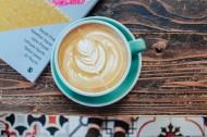 桌子上的美味咖啡图片(10张)