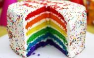 美味的彩虹蛋糕图片(7张)