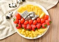 新鲜好吃的水果沙拉图片(15张)