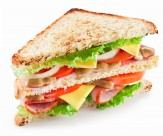 美味的三明治图片(10张)
