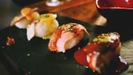 色泽艳丽的寿司图片(10张)
