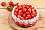 入口即化的水果奶油蛋糕图片(15张)