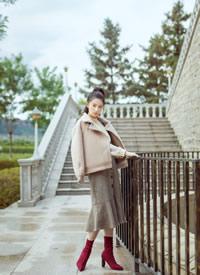 曾一萱时尚杂志写真图片