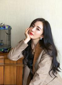 杨幂秋季优雅浪漫写真图片欣赏