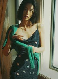 刘雯慵懒胶片风写真图片
