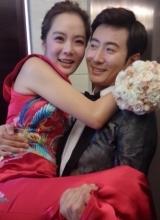 高梓淇蔡琳结婚现场曝光 新娘感动落泪