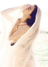 国风美人张辛苑巴厘岛海滩大片 唯美小清新