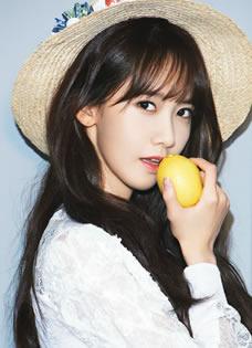 少女时代林允儿最新写真 时尚潮搭率领韩流