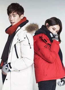 李钟硕冬季写真曝光 时尚造型夺眼球