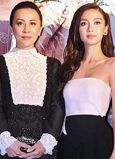 Angelababy狄仁杰2发布抹胸亮相 惊艳全场