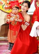 AngelaBaby红装喜迎新春