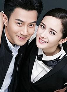 刘恺威杨幂首曝情侣写真 新婚夫妇唯美浪漫