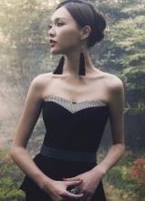 唐嫣时尚芭莎杂志高雅写真