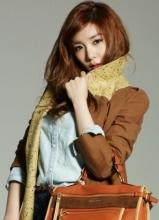 少女时代Tiffany2012年秋冬代言写真