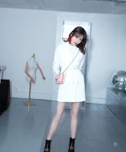 李斯羽时尚清爽写真图片
