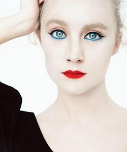 欧美明星西尔莎·罗南美妆时尚写真图片