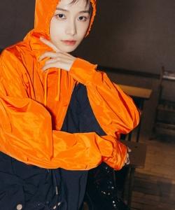 姜梓新个性时髦杂志写真图片