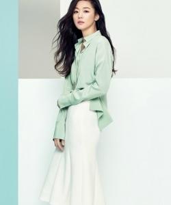 全智贤时尚杂志写真图片