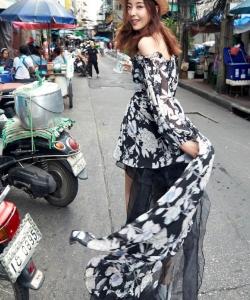 米露图片  米露时尚街拍图片
