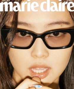 Jennie时尚杂志封面写真