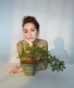 陈意涵最新时尚杂志写真大片